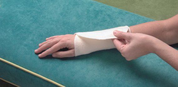 Woll-fühl® Gelenkwickel Hand-/Sprunggelenk